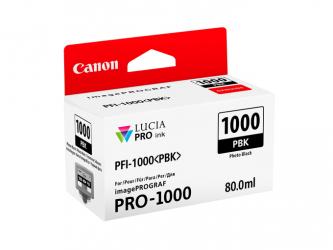 CANON Tintenpatrone PFI-1000 Photoschwarz