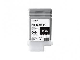 CANON Tintenpatrone PFI-102 Mattschwarz 130ml