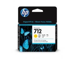 HP 712 Tinte gelb 29ml - 3ED69A