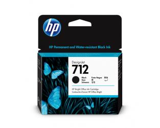 HP 712 Tinte schwarz 80ml - 3ED71A