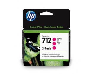 HP 712 Tinte magenta 3er Pack 29ml - 3ED78A