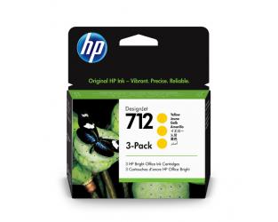 HP 712 Tinte gelb 3er Pack 29ml - 3ED79A