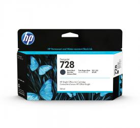 HP 728 Tinte schwarz 130ml - 3WX25A