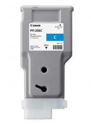 CANON Tintenpatrone PFI-206 Cyan 300ml