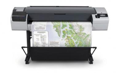 HP DesignJet T795,  gebraucht, max Druckbreite 112cm