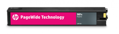 HP 981X magenta PageWidePatrone - L0R10A