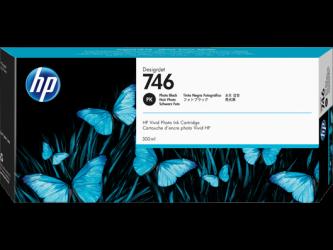 HP 746 Tinte photo schwarz 300ml - P2V82A