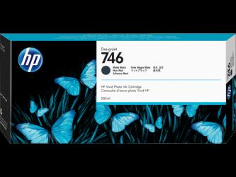 HP 746 Tinte matt schwarz 300ml - P2V83A
