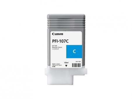 CANON Tinte PFI-107 Cyan 130ml