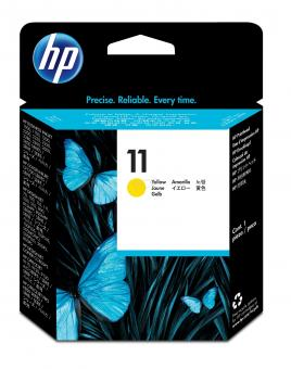 HP 11 Druckkopf gelb