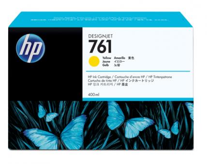 HP 761 Tinte gelb 400ml