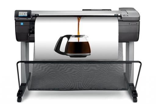 HP DesignJet T830 MFP, Plotter und Scanner Kompakt, PCV-Radolfzell