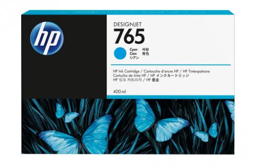 HP 765 400 ml Tintenpatrone cyan