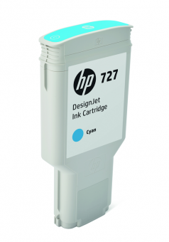 HP 727 Tinte cyan 300ml