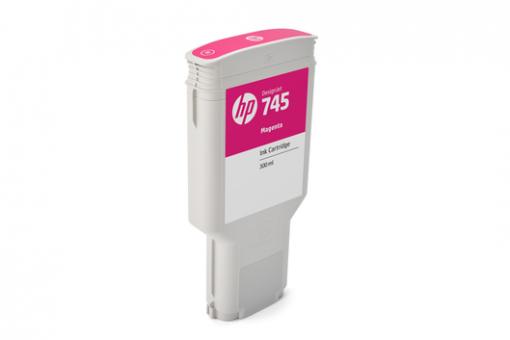 HP 745 Tinte magenta 300 ml