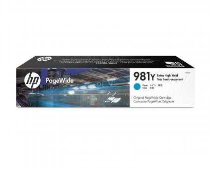 HP 981Y cyan PageWidePatrone