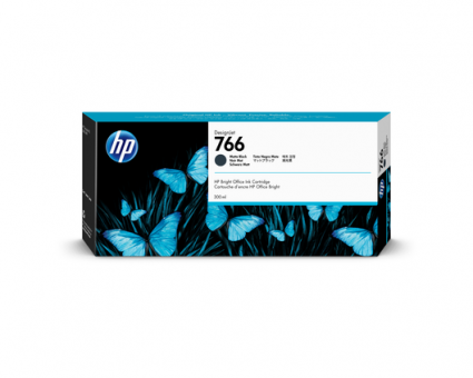 HP 766 Tinte matt schwarz 300ml