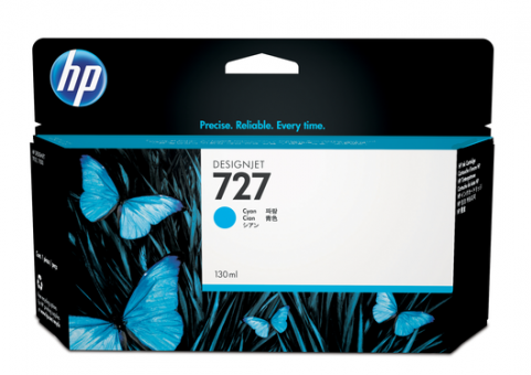 HP 727 Tinte cyan 130ml