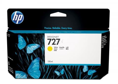 HP 727 Tinte gelb 130ml
