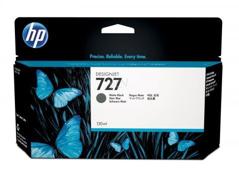 HP 727 Tinte matt schwarz 130ml