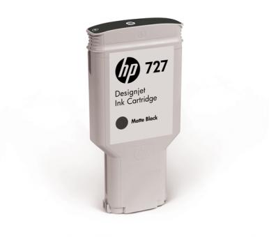 HP 727 Tinte matt schwarz 300ml