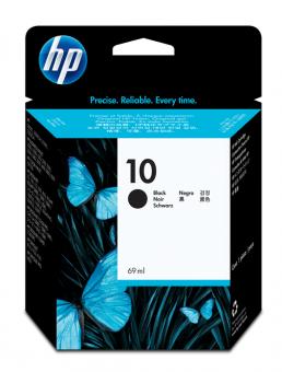 HP 10 Tinte schwarz 69ml