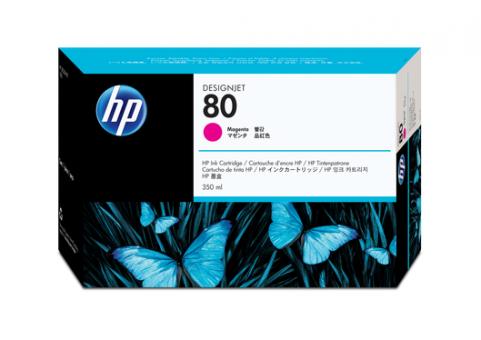 HP 80 Tinte magenta 350ml