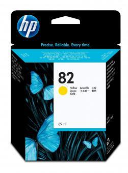 HP 82 Tinte gelb 69ml