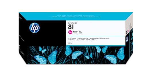 HP 81 Tinte magenta 680ml