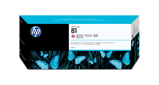 HP 81 Tinte light magenta