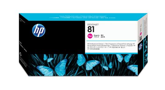 HP 81 Druckkopf+Reinigermagenta