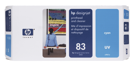 HP 83 UV Druckkopf Reiniger cyan