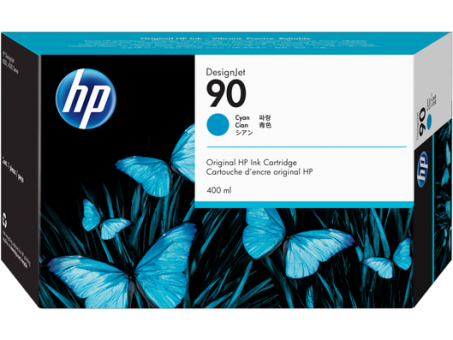 HP 90 Tinte cyan 400ml