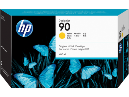 HP 90 Tinte gelb 400ml