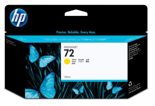 HP 72 Tinte gelb Vivera 130ml