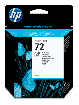 HP 72 Tinte schwarz Foto Vivera 69ml
