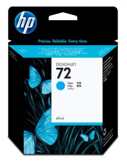 HP 72 Tinte cyan Vivera 69ml