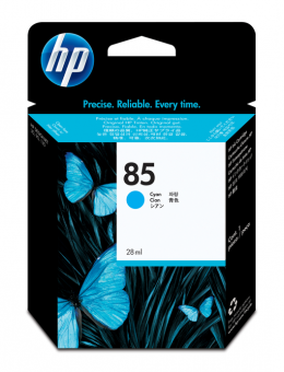 HP 85 Tinte cyan 28ml