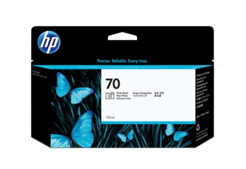 HP 70 Tinte Foto schwarz 130 ml Vivera