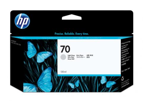 HP 70 Tinte hellgrau 130 ml Vivera