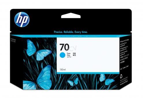 HP 70 Tinte cyan 130 ml Vivera