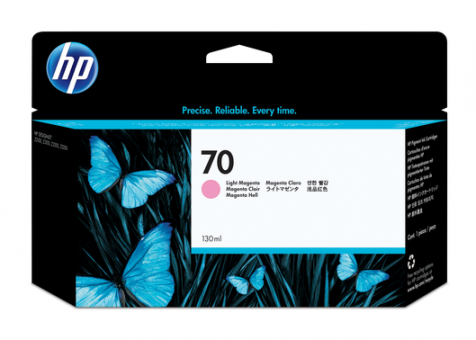 HP 70 Tinte magenta light 130ml Vivera