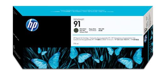 HP 91 Tinte schwarz matt Vivera 775ml