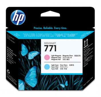 HP 771 Druckkopf light magenta+ light cyan