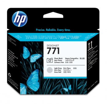 HP 771 Druckkopf fotoschwarz +hell grau