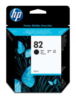HP 82 Tinte schwarz 69 ml