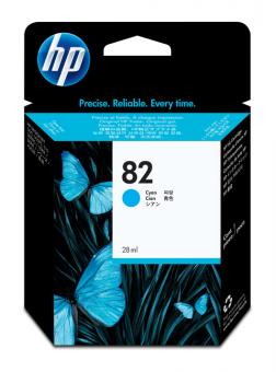 HP 82 Tinte cyan 28 ml
