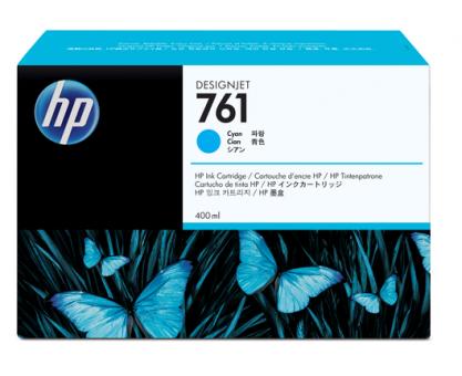 HP 761 Tinte cyan 400ml