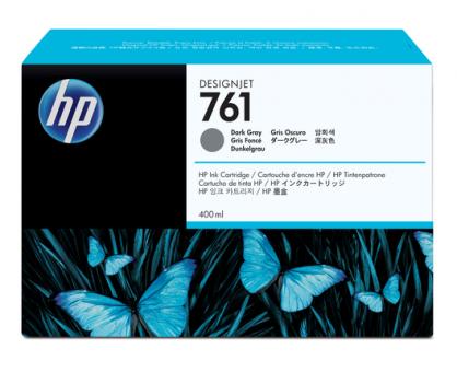 HP 761 Tinte dunkel grau 400ml