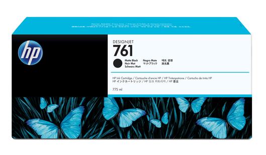 HP 761 Tinte matt schwarz 775ml